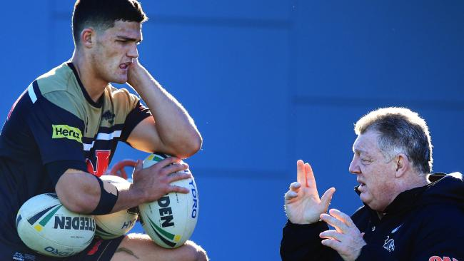 Retaining Nathan Cleary is vital to the Panthers. (Jenny Evans)