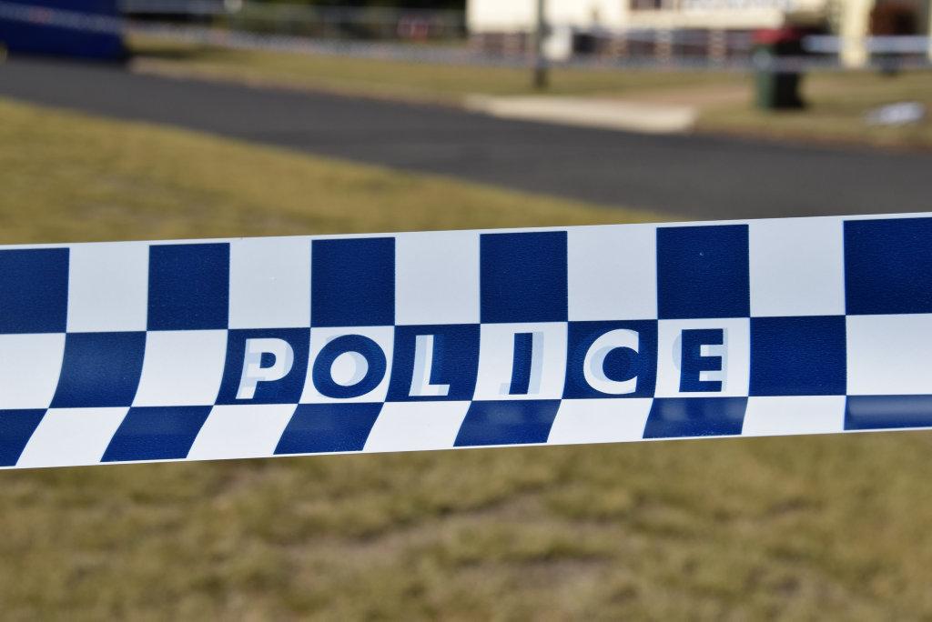 Police crime scene. Photo Tessa Mapstone / South Burnett Times