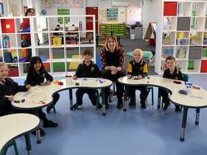 Little learners settle into new room as school gets makeover