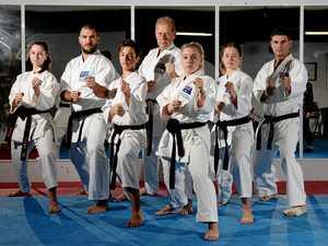 Australia meet Germanay in karate showdown at MECC