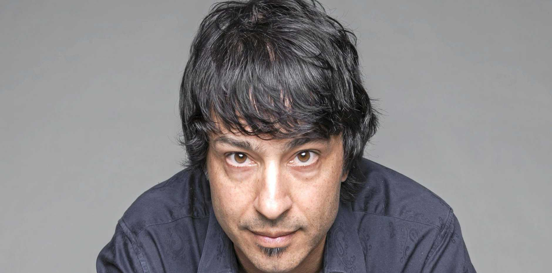 FUNNY GUY: Arj Barker performs at The J on August 10.