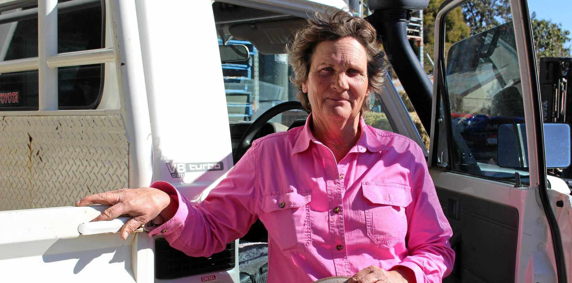 FLAT OUT: The Glen cattle farmer Dorothy