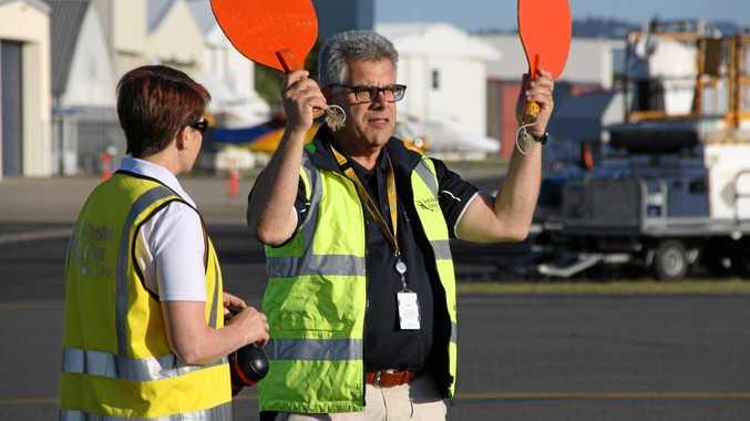Sunshine Coast Airport CEO Peter Pallot.