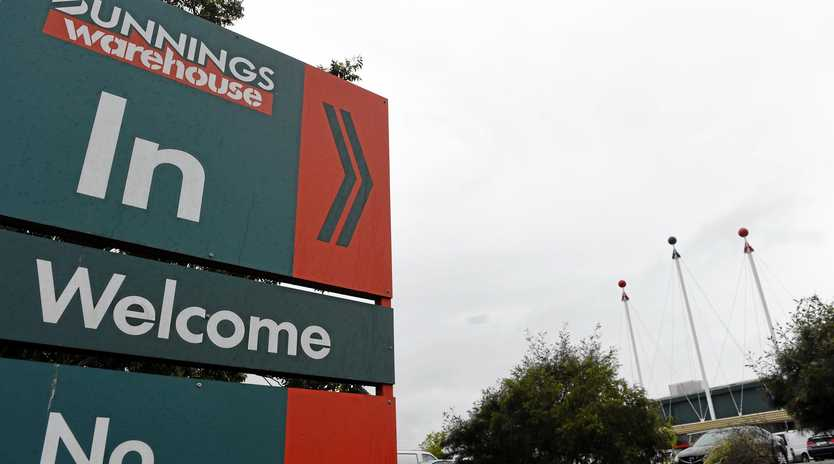 Bunnings Warehouse Lismore in South Lismore.