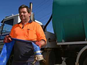 WATER CRISIS: Tank owners battle as dry weather continues