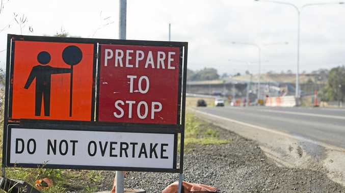 Roadworks and closures in Toowoomba and the surrounding region.
