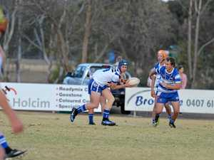 Collegians under-16 action from game at Cowboys