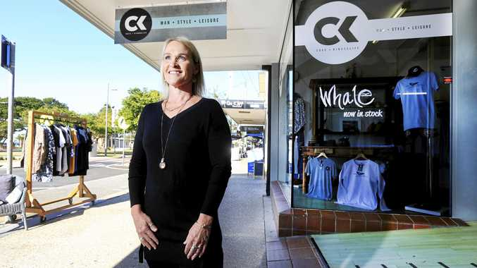 Bridgette Pinnock from Cave Kingscliff in Marine Parade is urging locals to support local business.