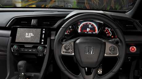 Room for rent: Honda Civic RS has a spacious cabin.