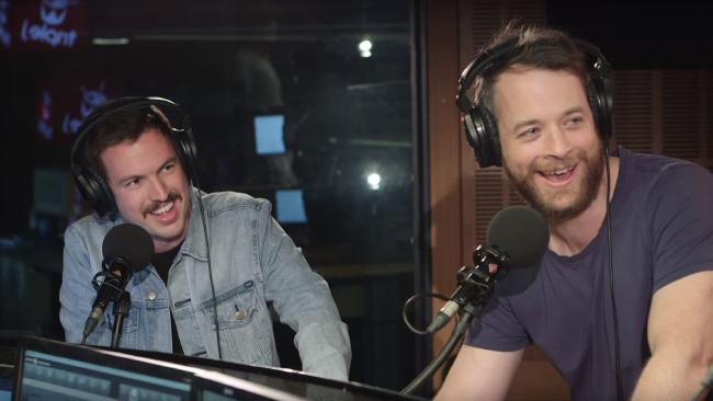 Triple J's Liam Stapleton and Hamish Blake sound identical.