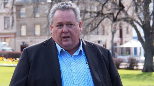 Tom Lynch says the State Government is stifling free speech. PHOTO: DAVID KILLICK