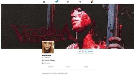 A bloodied face on Evie Amati's Facebook page soon after the union organiser was arrested in January 2017.