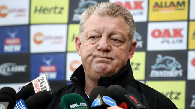 Penrith Panthers general manager Phil Gould. Picture: AAP