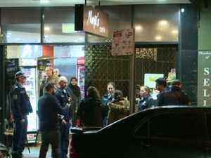 Man denies assault in Liberal Party kebab shop brawl