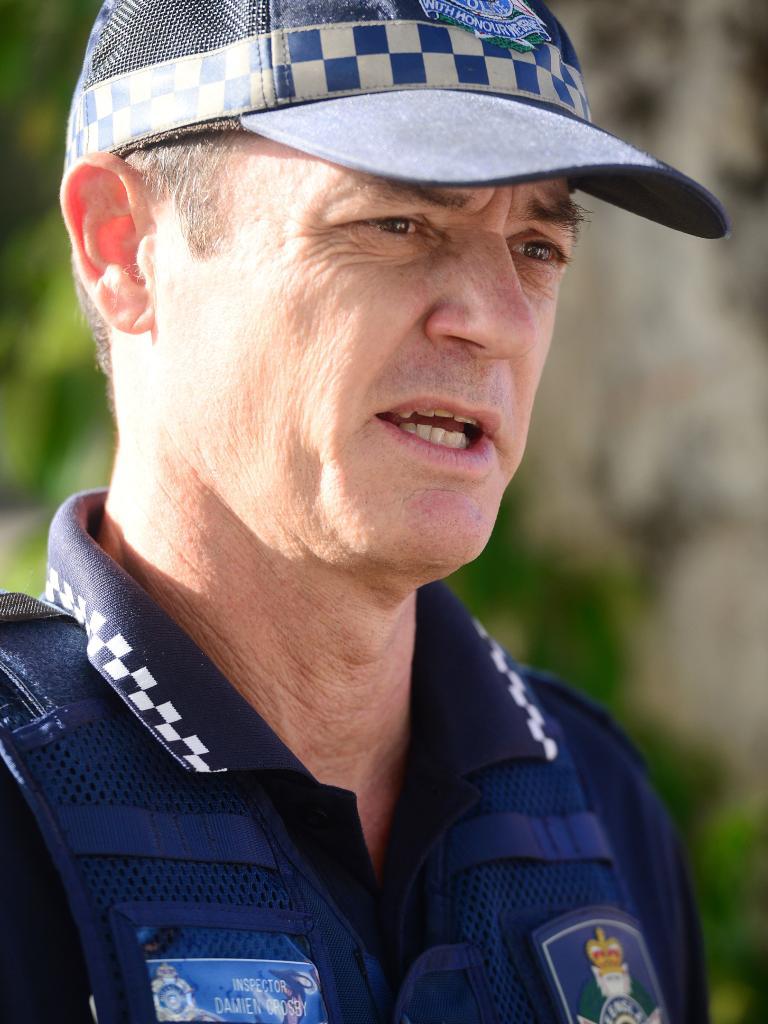 Inspector Damien Crosby.