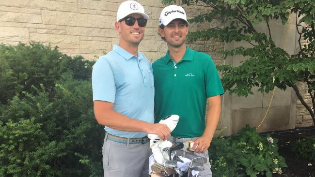 Zach Johnson and Zach J Johnson. One's a two-time major winner, the other an assistant pro.