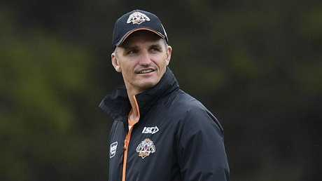 Will Cleary walk away from his Tigers mission? Picture: Dan Himbrechts/AAP