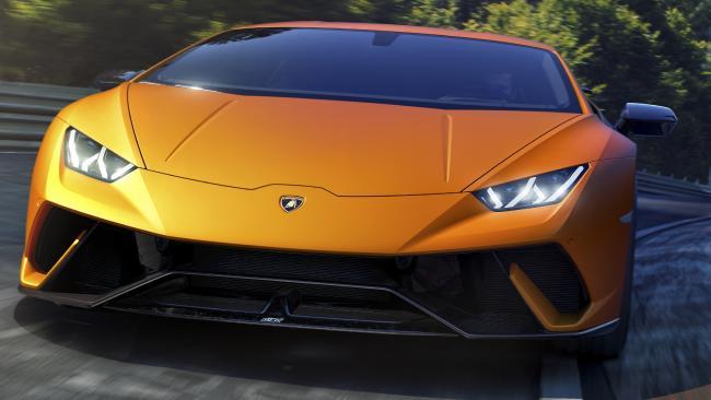 Supercar: A 2017 Lamborghini Huracán. Picture: Supplied