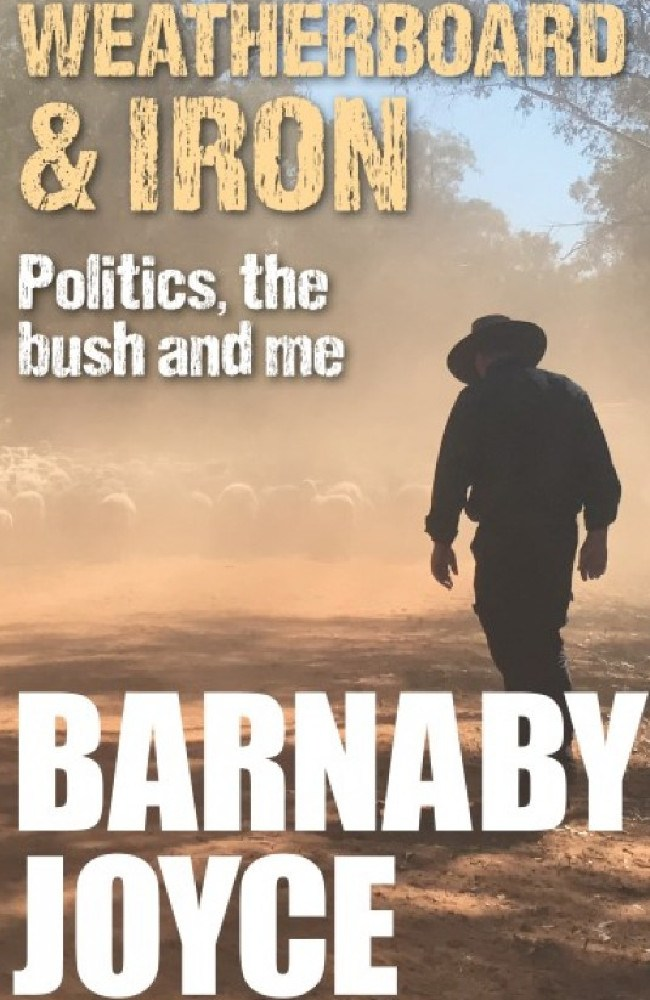 Barnaby Joyce has laid it all bare in a new autobiography. picture: Supplied