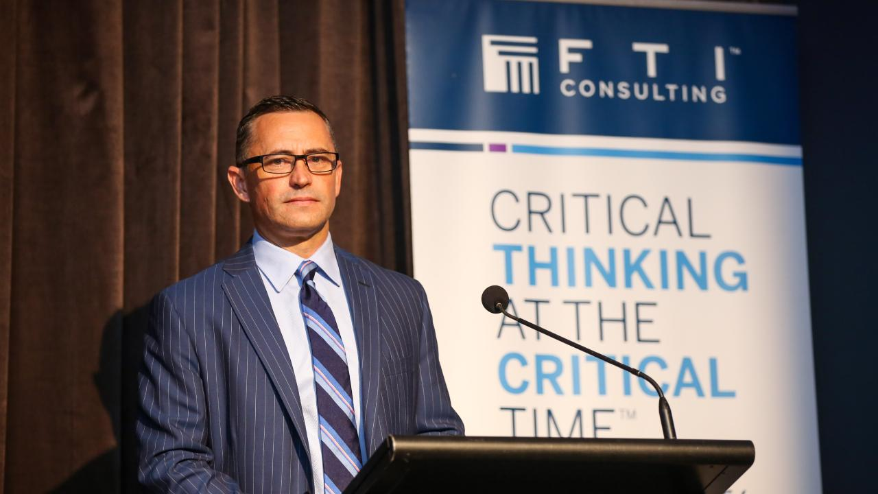 FTI Consulting lead administrator John Park. Photo: Cameron Laird