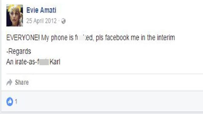 The privileged son of union representatives, Amati was publicly still Karl in the first half of 2012.