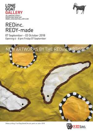The REDinc. artists are a diverse group of artists with a disability who make work using a variety of methods and mediums.