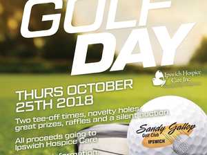 This years Queensland Times Golf Day will be held on Thursday October 25th!