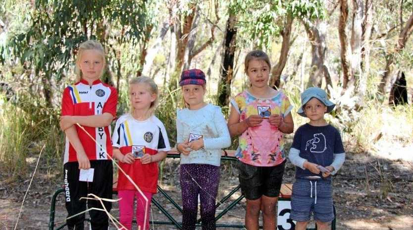 EVENT READY: Junior participants at last year's Queensland Orienteering Championships.
