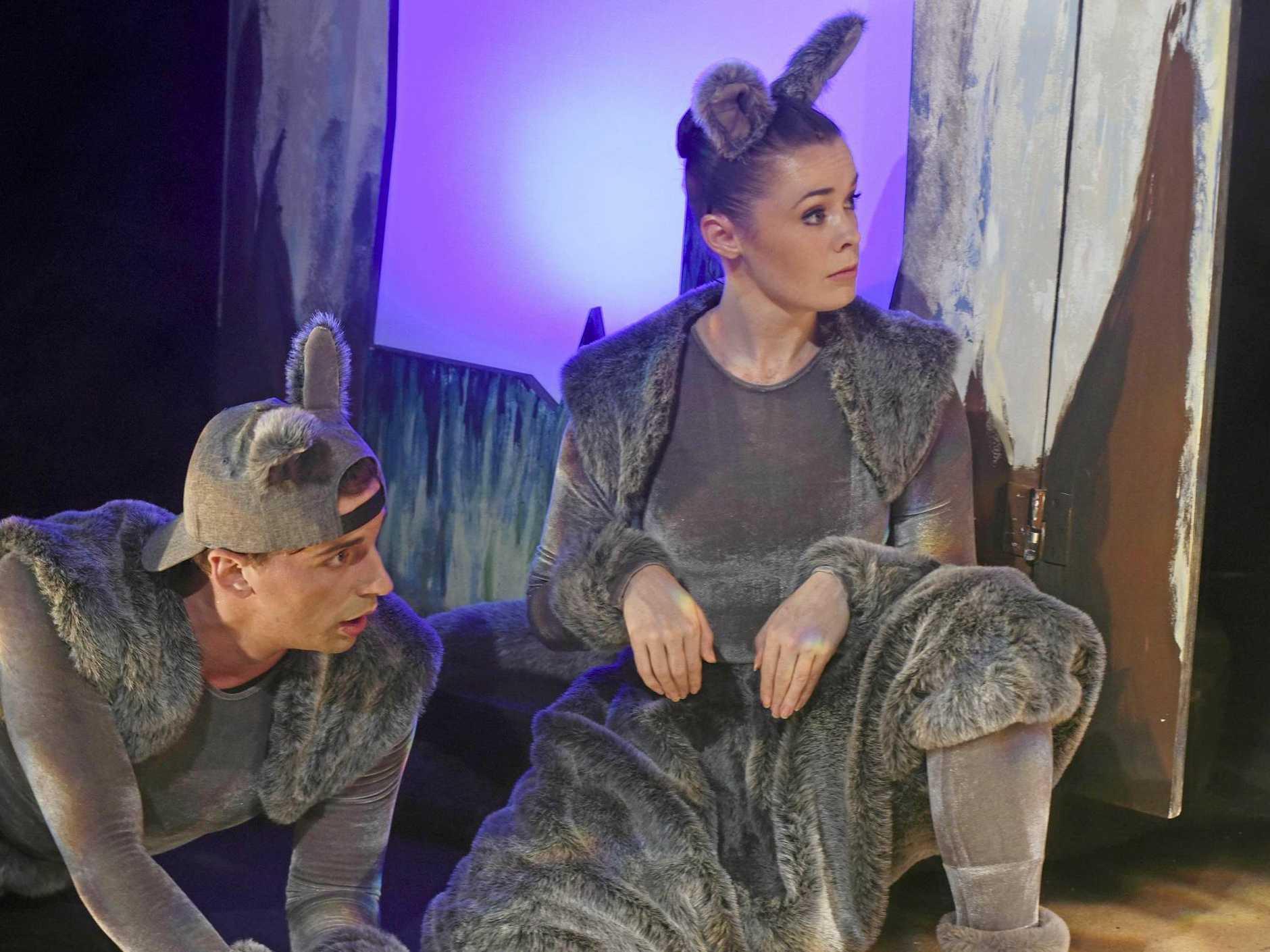 CLASSIC TALE: Rebecca Hetherington with Hayden Rodgers in Josephine Wants to Dance.