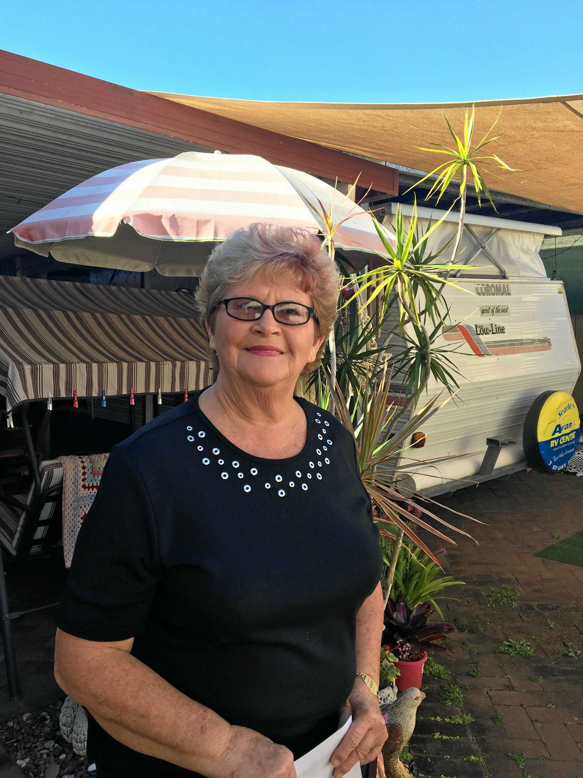 Maureen Stevens is searching for two farming families to give a holiday in Caloundra to.