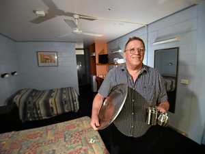 'Retro, funky' items for sale in historic motel's final days