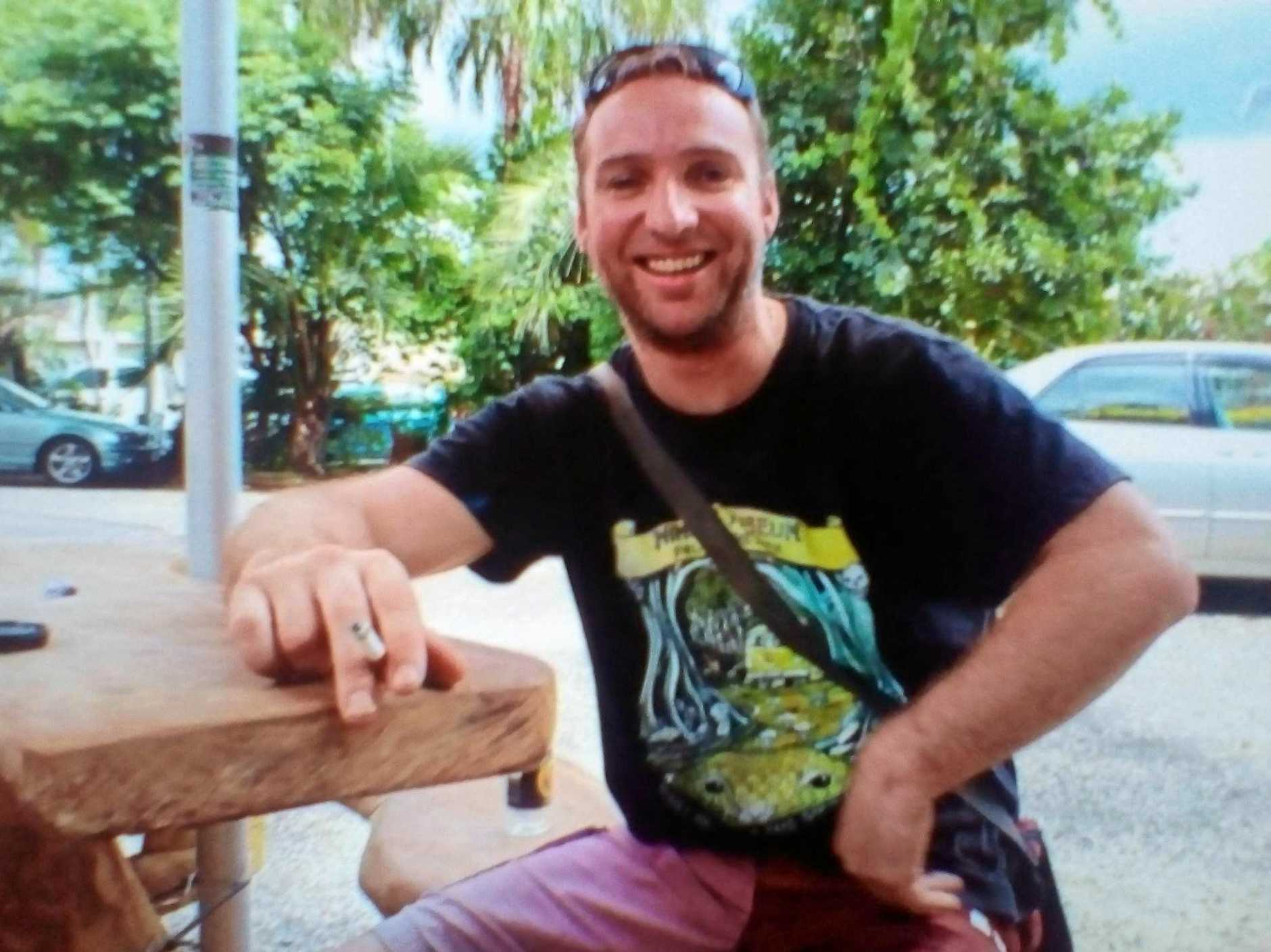 Northern Rivers man Damien Roadley has been reported missing after he went camping at Blue Knob, near Nimbin.