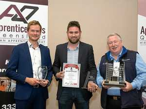Young tradies down tools for special occasion