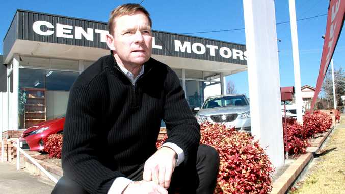 END OF AN ERA: After 80 years in business the Reeves (pictured Rob Reeves) family have had to make the heartbreaking decision to close Central Motors.