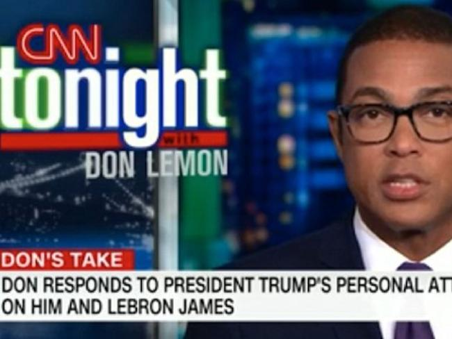 CNN anchor Don Lemon. Picture: CNN
