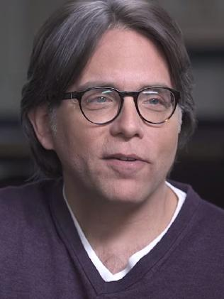 Alleged cult leader Keith Raniere. Picture: Youtube