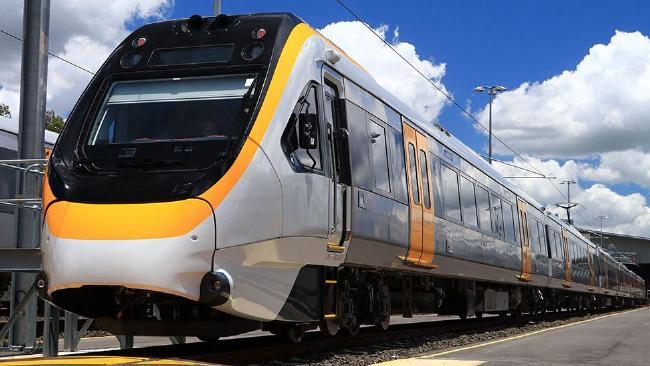 One of Queensland Rail's New Generation Rollingstock units