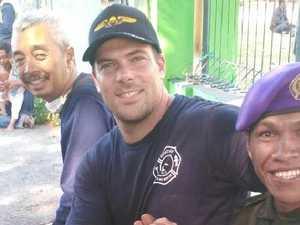 Aussie firefighter's admirable sacrifice after quake