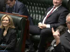 Health Minister's shows off his dance moves in parliament