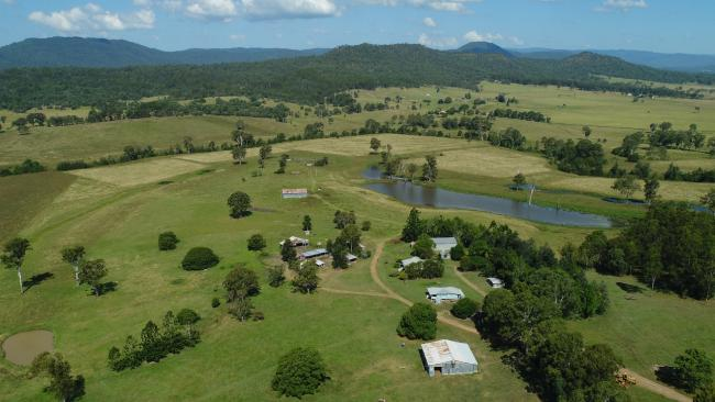 One of the properties owned by the Queensland Government that sold at auction.