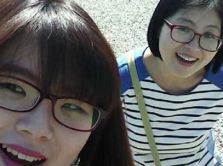 Korean woman Eunji Ban murdered in Brisbane left with her mother Sook Bun Jung