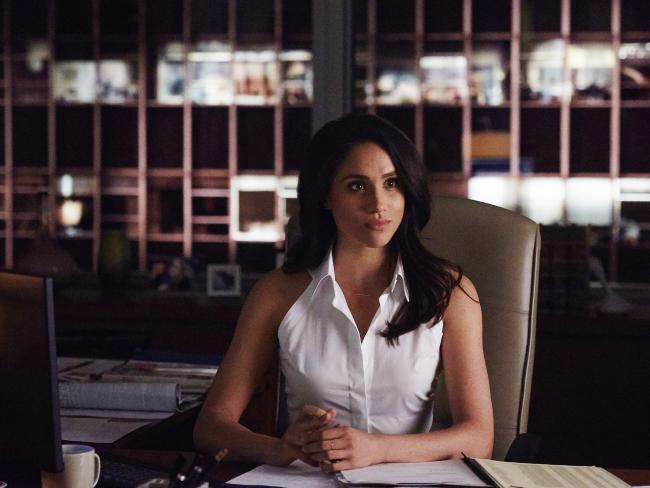 Meghan Markle as Rachel Zane in Suits. Picture: USA Network