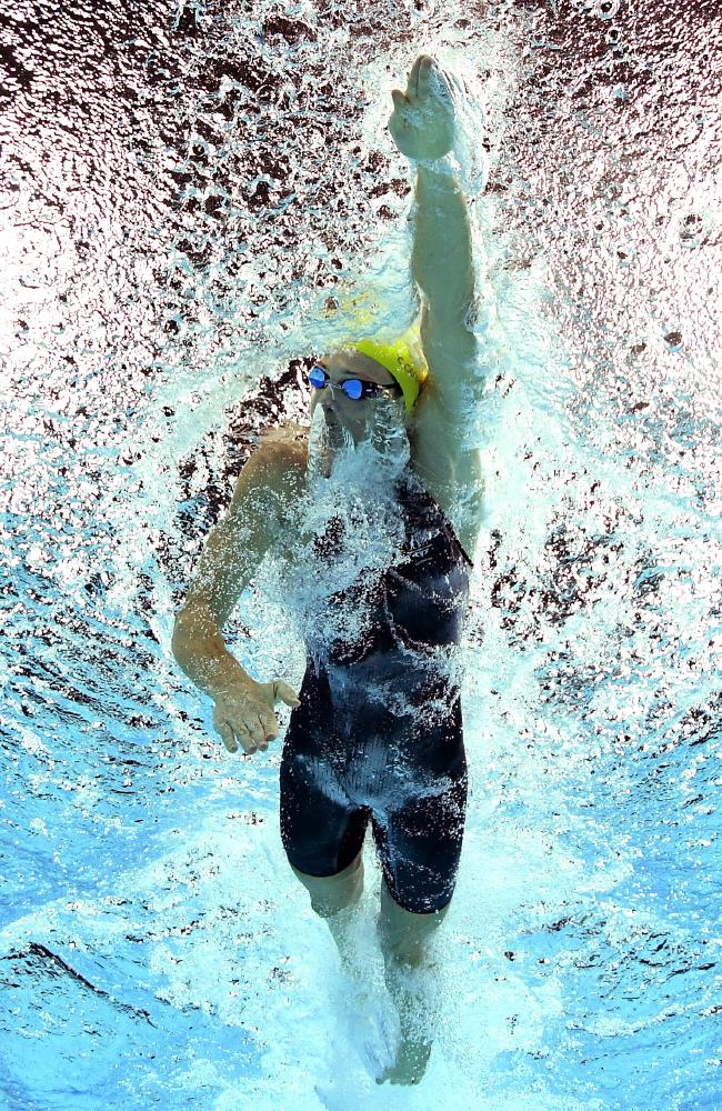 Cate Campbell at the Commonwealth Games. Picture: AAP