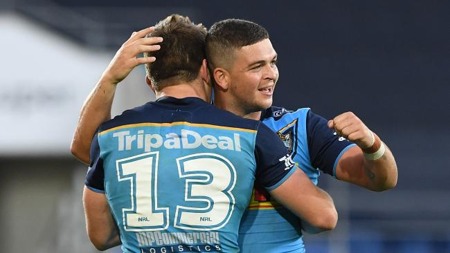 In Jai Arrow and Ashley Taylor, the Titans have some good young talent to build around. Picture: Dave Hunt/AAP