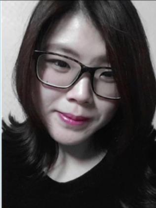 Korean woman Eunji Ban.