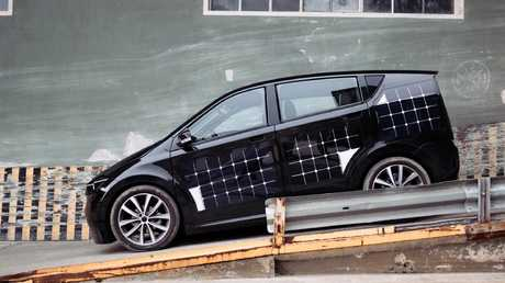 Panel beater: The Sion is covered in 330 solar cells.