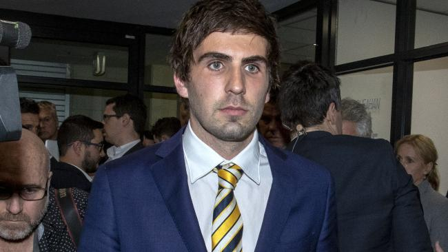 Andrew Gaff will live with the shame for the rest of his life.