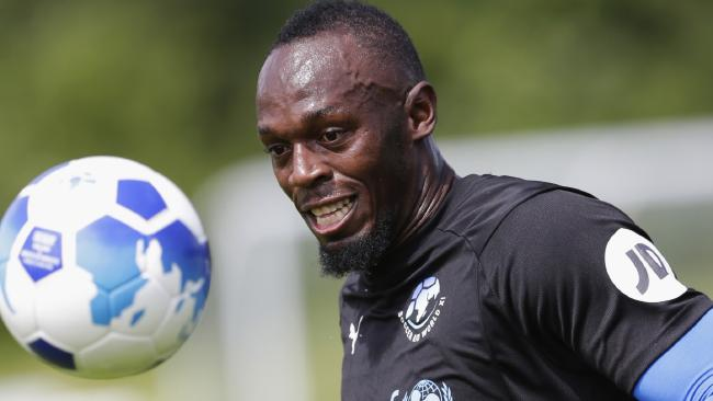 Sprint king Usain Bolt is going to try his hand in the A-League.