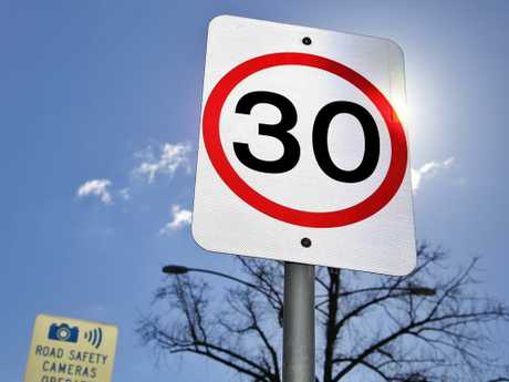 The 30km/h trial will run for 12 months in Collingwood and Fitzroy.