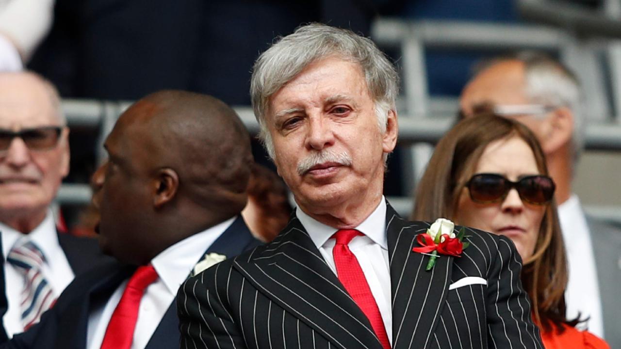 Arsenal's US owner Stan Kroenke.